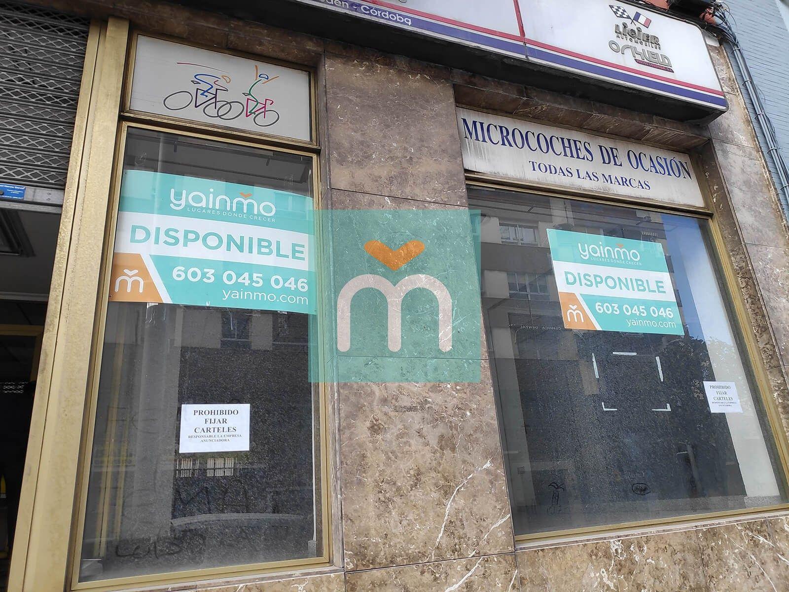 Alquiler Local | Avenida Madrid | Jaén