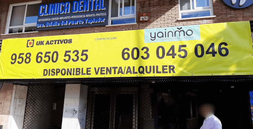 local cines yainmo inmobiliaria jaen