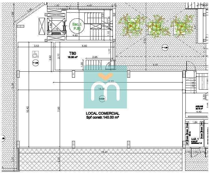 plano local Bulevar
