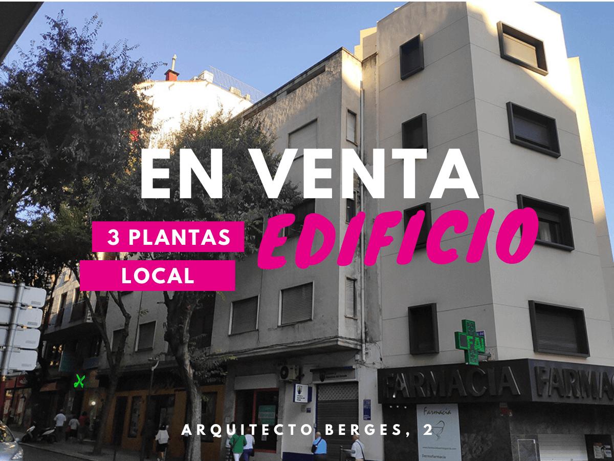 Venta Edificio | Arquitecto Berges | Jaén