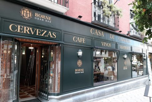 traspaso cafeteria restaurante Jaén yainmo