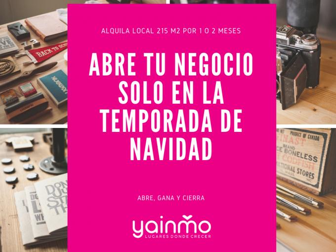 Alquiler Local | Solo en Navidad | Jaén