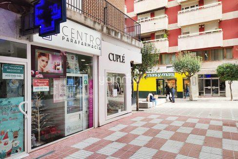 traspaso parafarmacia centro Jaén yainmo360