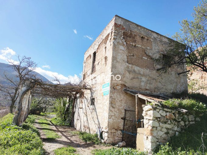 terreno y casa antigua yainmo370 jaen